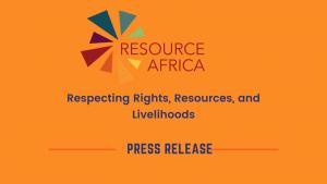 Resource Africa Press Release