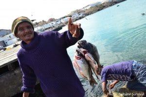 Small-scale fishermen